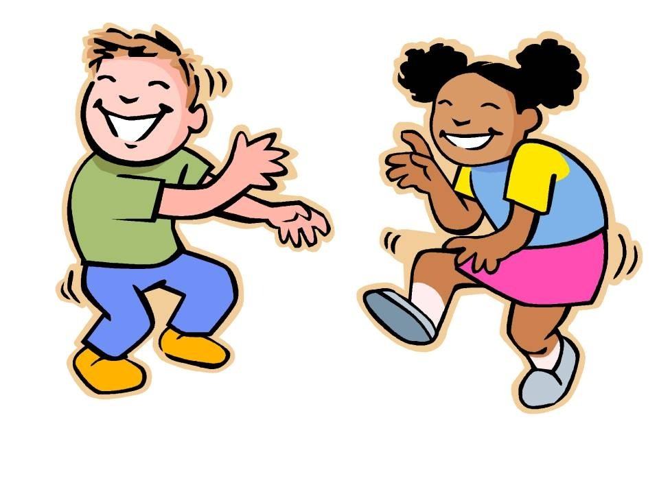 Dancing clipart. Kids at getdrawings com