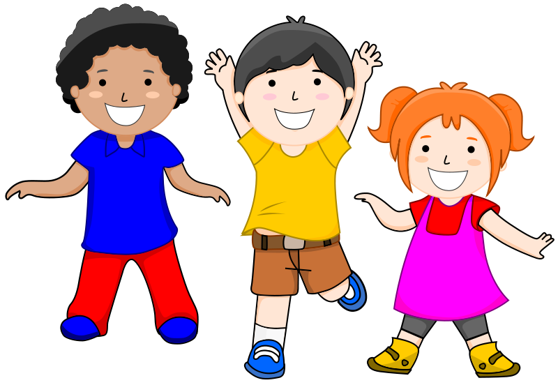 Students clipart happy. Kids dancing image group