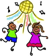 Kids celebration clip art. Dancing clipart children's vector transparent download