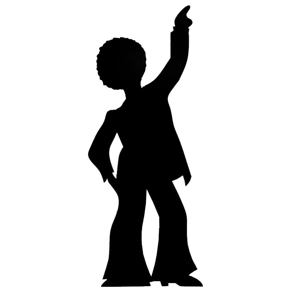 Dancing clipart homecoming dance. Dancer silhouette at getdrawings