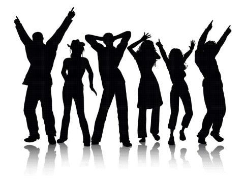 Michiganschoolforthedeaf org people. Dancing clipart homecoming dance jpg black and white library