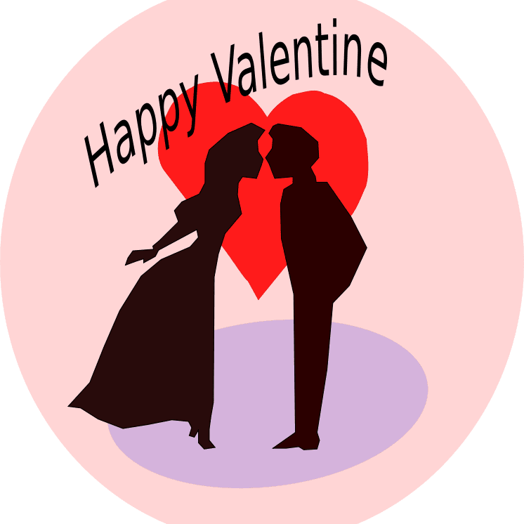 Dancing clipart valentines day. Lots of free valentine