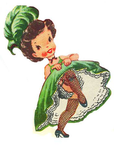 Dancing clipart vintage. Best images on