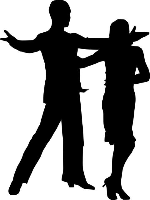 Dancing couple silhouette png. Free images toppng transparent