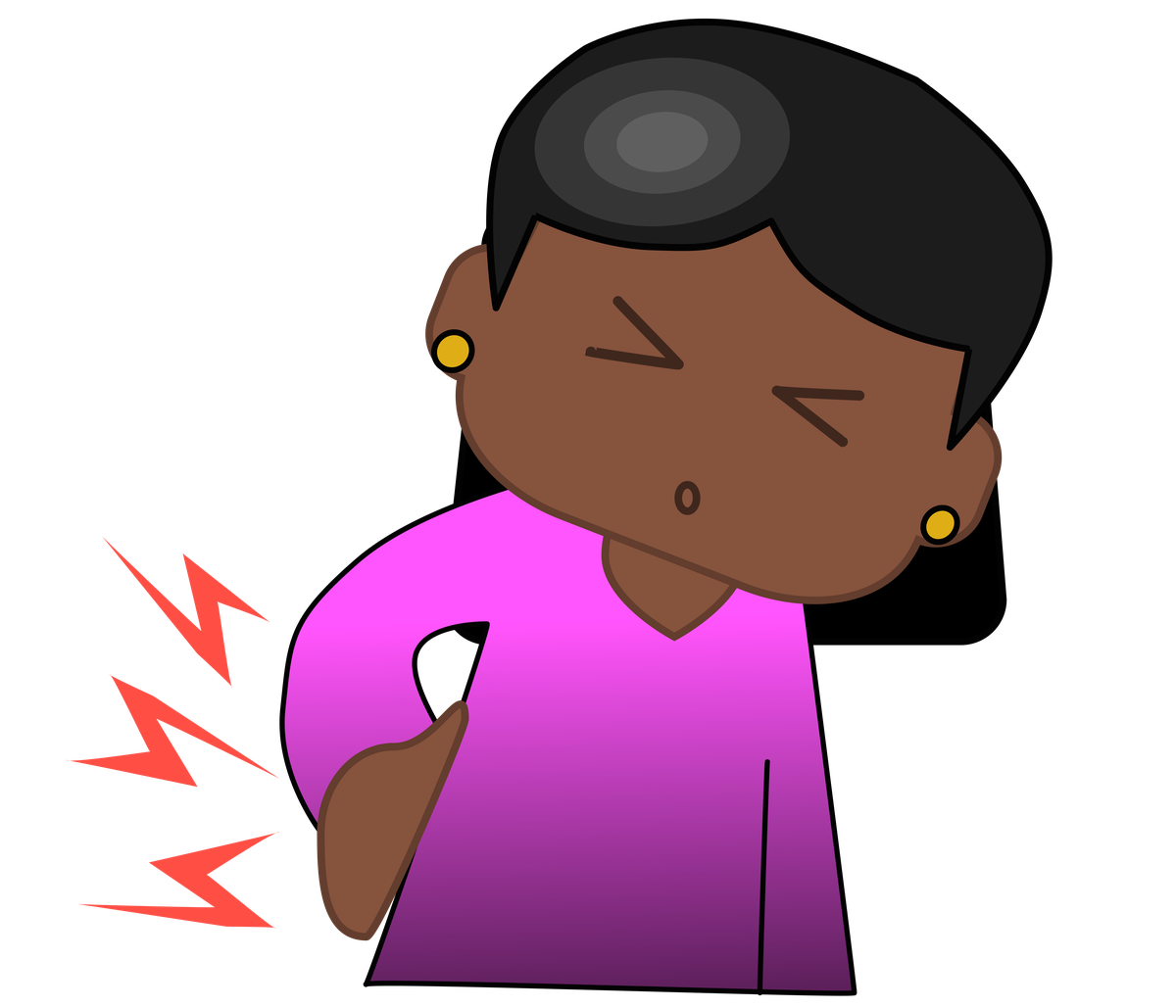 Dancing girl emoji png. Grandmother creates to better