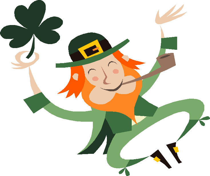 laughing leprechaun png