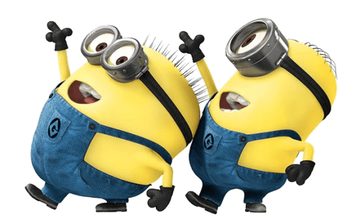 Dancing minion png. Minions transparent stickpng