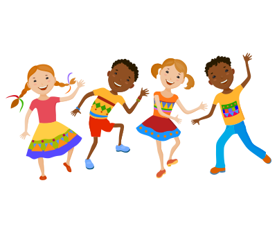 collection of children. Dancing clipart png clipart download