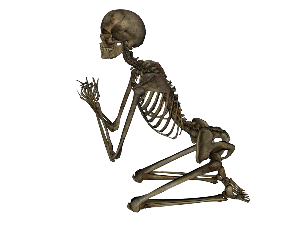 Dancing skeleton gif png. Praying by markopolio stock