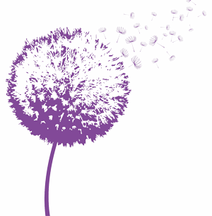Dandelion transparent purple. Ceo seminars executive speaking