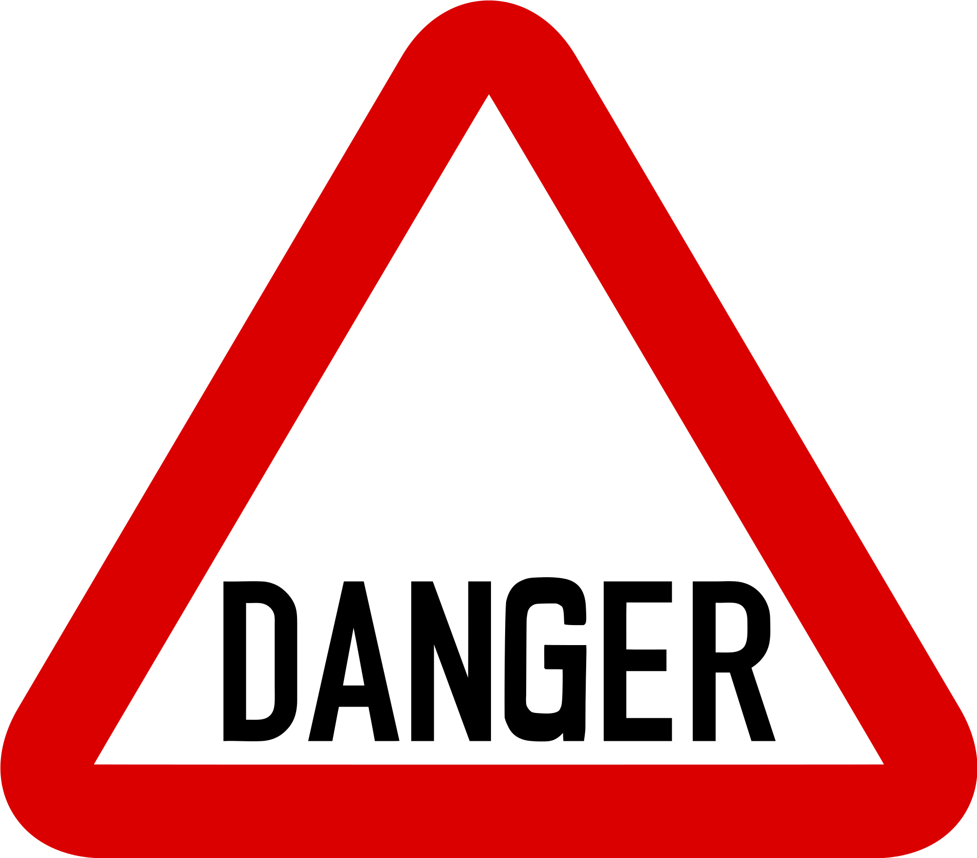 Free cliparts download clip. Danger clipart dangerous road graphic freeuse stock