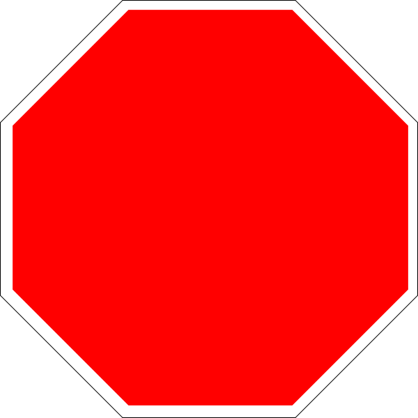 Danger clipart blank yield sign. Free printable stop download