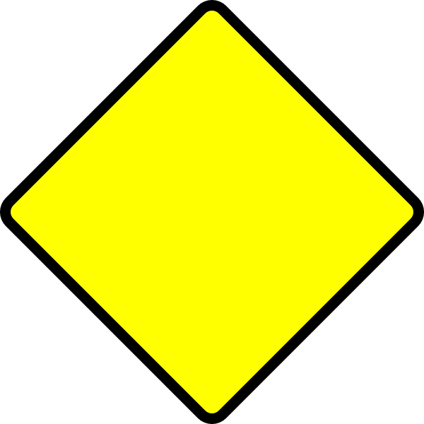 Danger clipart blank yield sign. Street signs road clip