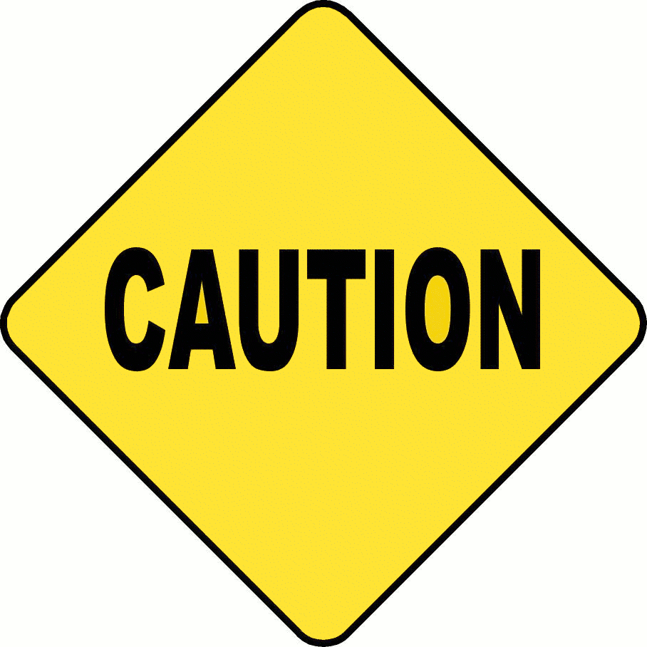 Danger clipart blank yield sign. Do not enter roads