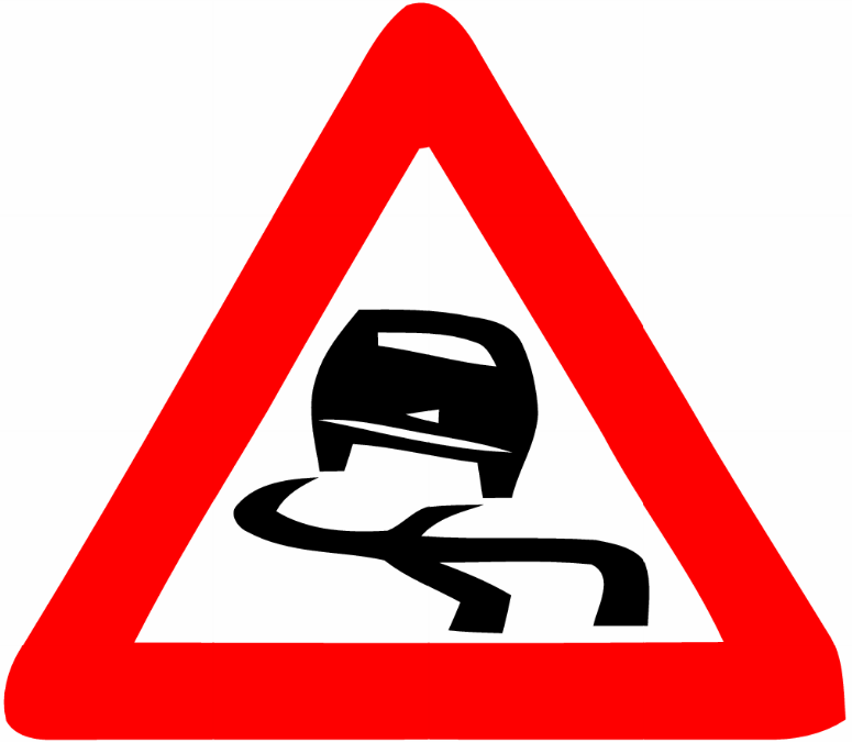 Danger clipart dangerous road. Clipground signs