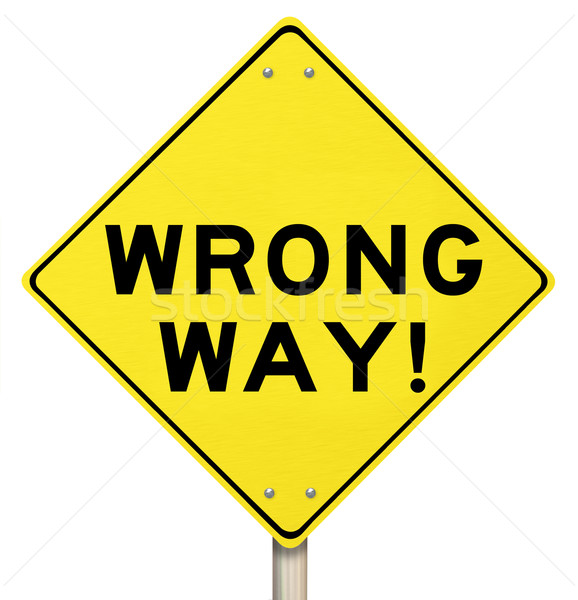 Wrong way yellow warning. Danger clipart dangerous road clipart free stock