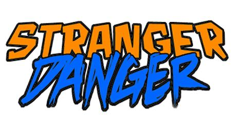 Danger clipart don t talk to stranger. Go retro