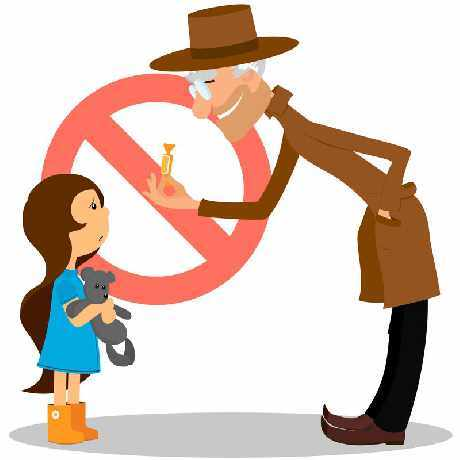 Danger clipart don t talk to stranger. Teaching children safety without