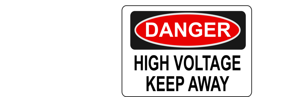 High voltage computer icons. Danger clipart free clipart clip art freeuse stock