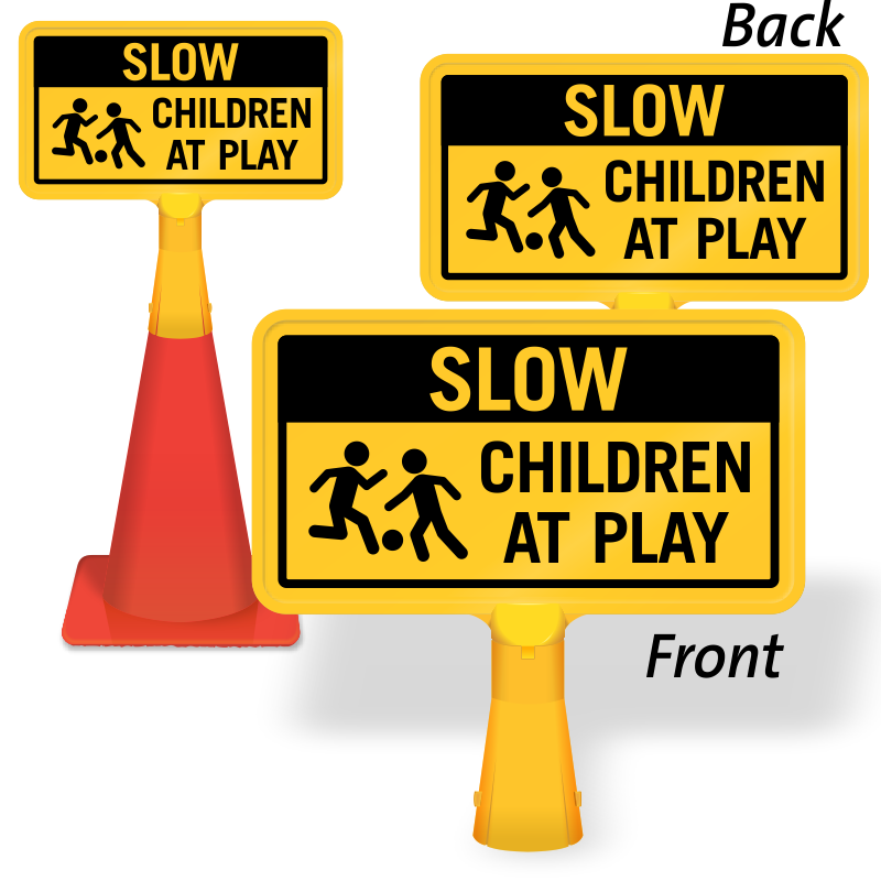 Danger clipart hot iron. Children at play signs