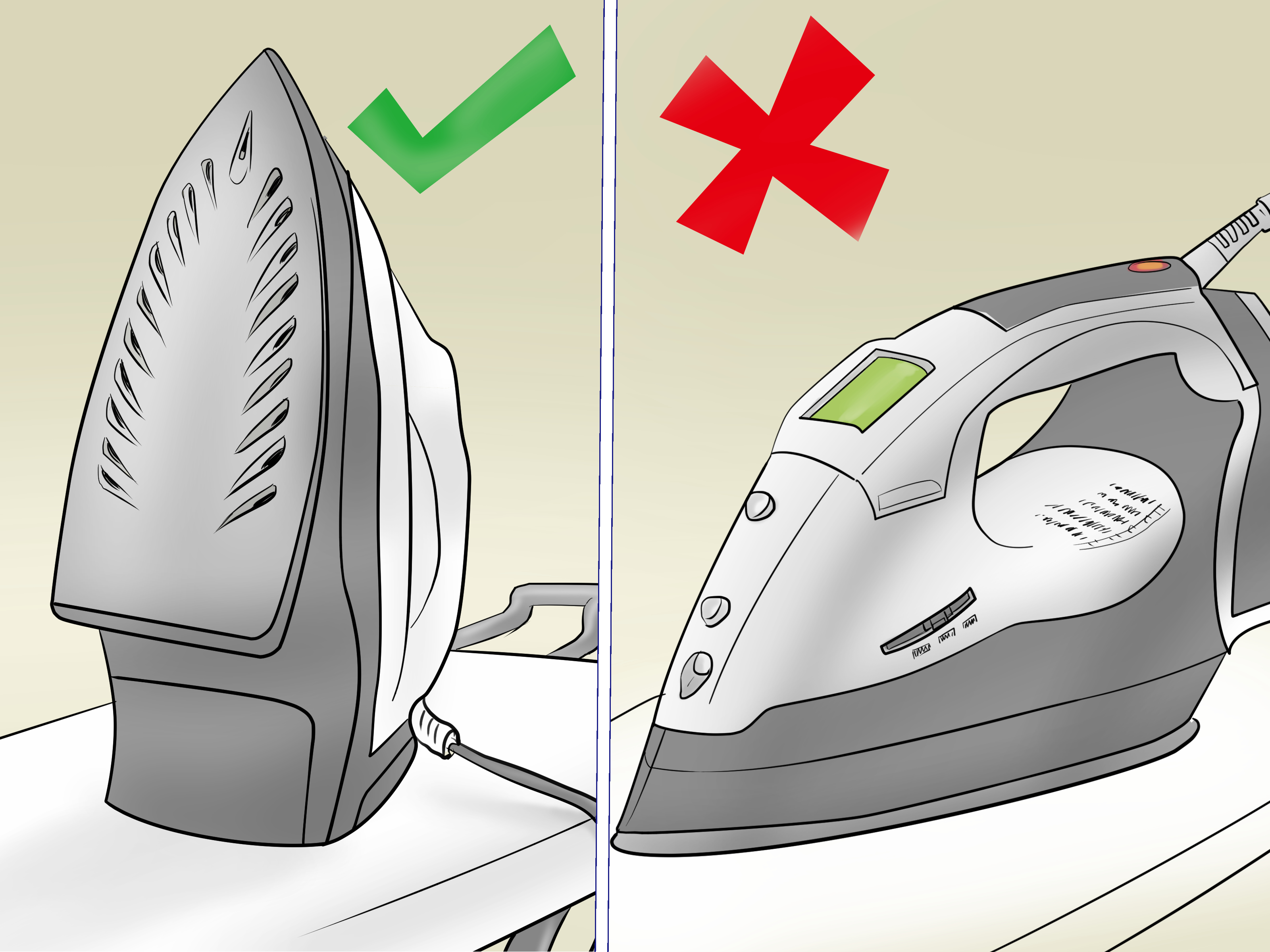 Danger clipart hot iron. How to steps with