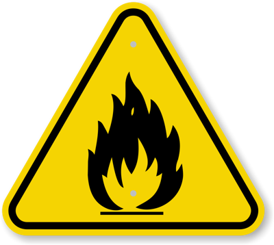 Danger clipart scard. Elevated fire weather conditions