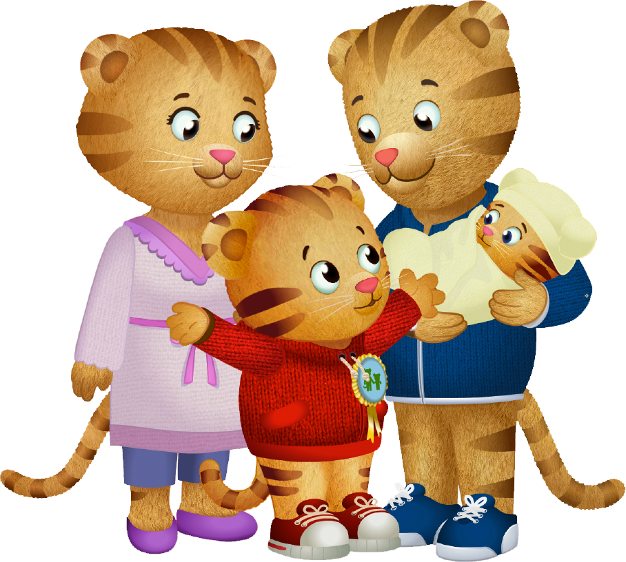 Daniel tiger png. Image dtn the family