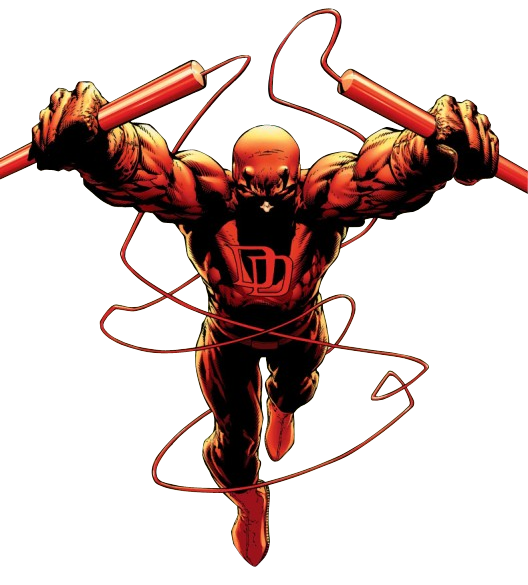 Daredevil comic png. S billy club headhunter