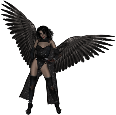 Mixed race angels png. Download dark angel file