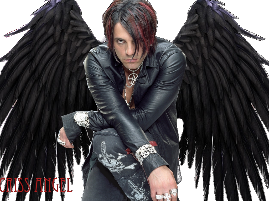 Dark angels wallpaper png. Criss angel by maddielovesselly