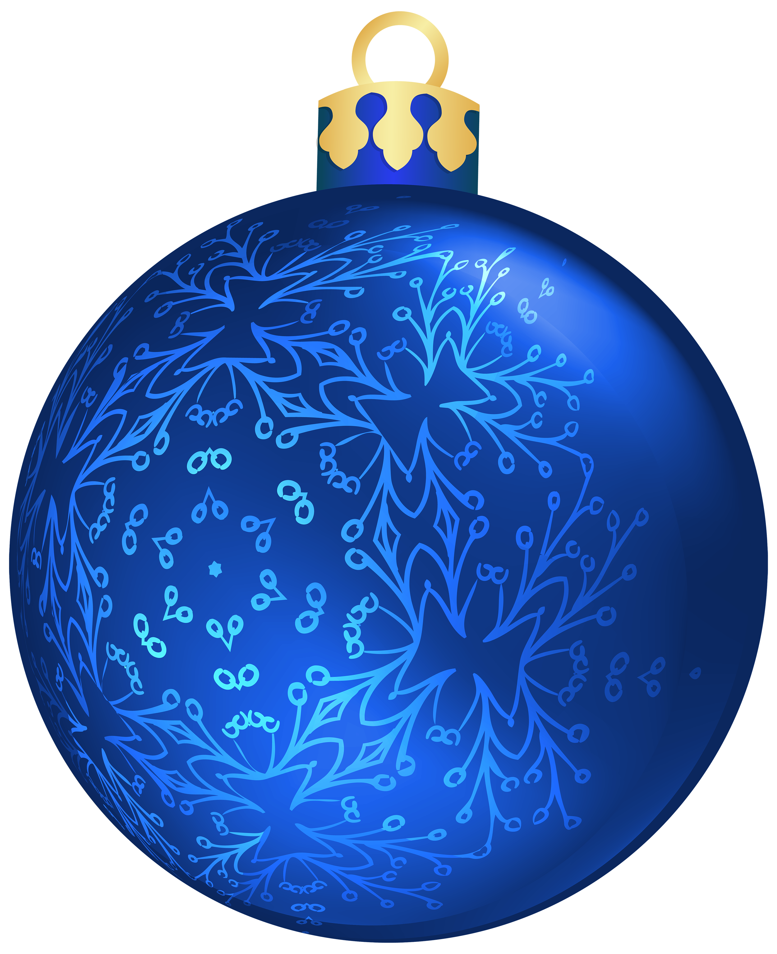 Ornament transparent dark blue. Christmas ball png clipart