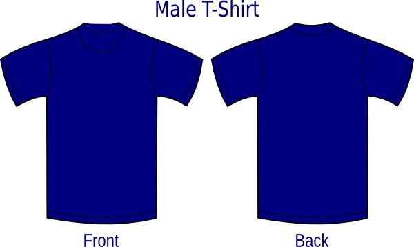 navy blue shirt png