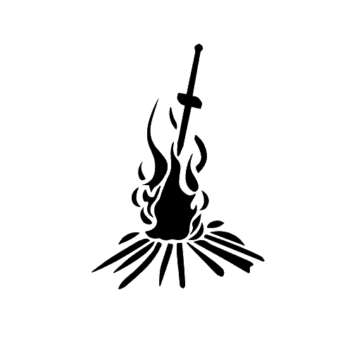 Dark souls bonfire png. Template for cake cool