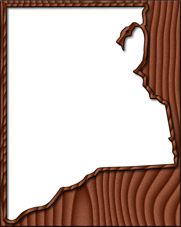 Dark wood frame png. Clay fancy style maps