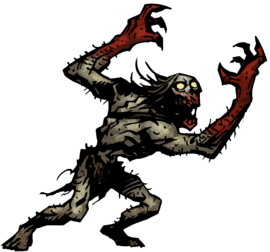 Ghoul official darkest dungeon. Gargoyle vector mythology graphic free library