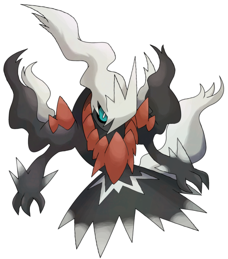 Darkrai drawing character. Mega fake by neoz