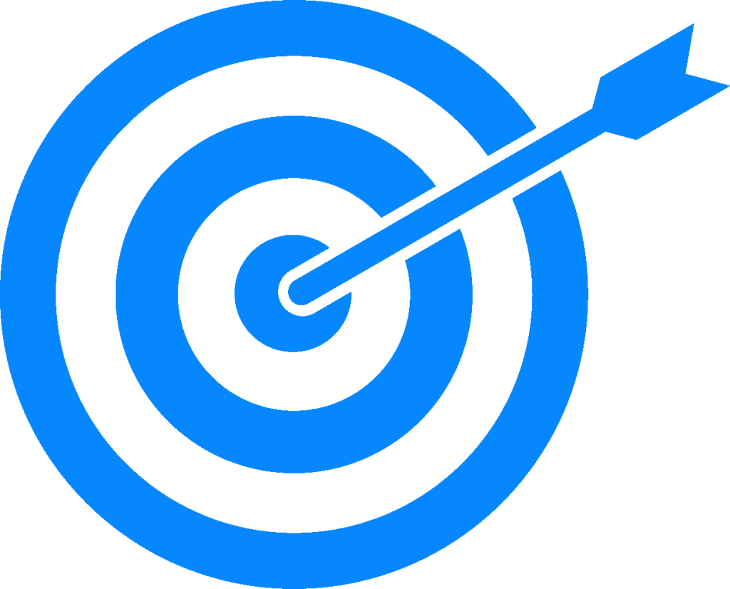 Dart clipart achieved target. High quality png clip