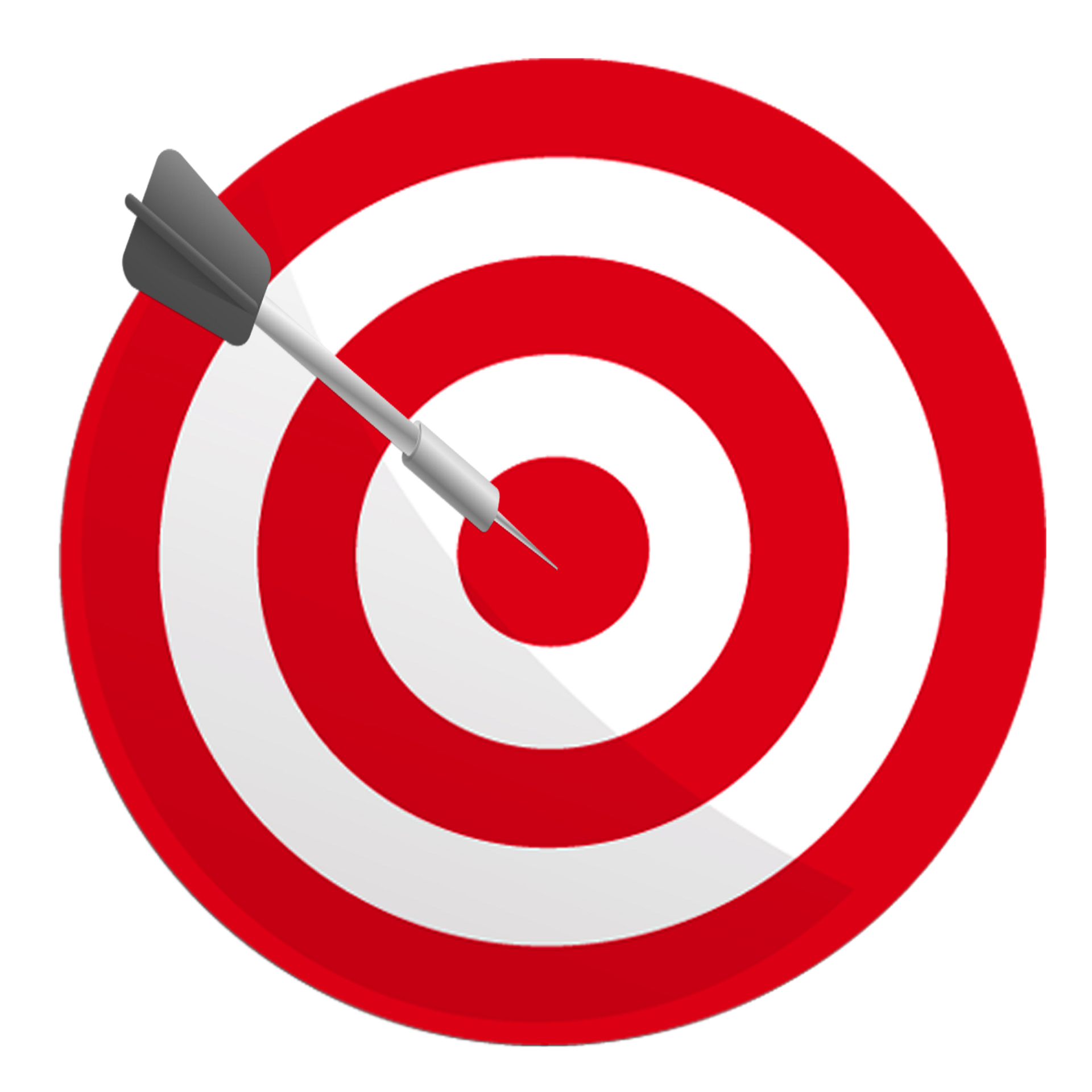 Dart clipart achieved target. Real exits what makes