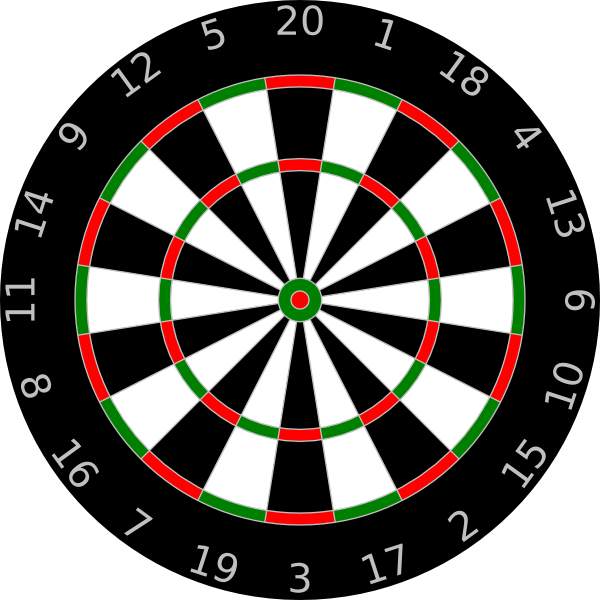 Dart clipart animated. Dartboard clip art at