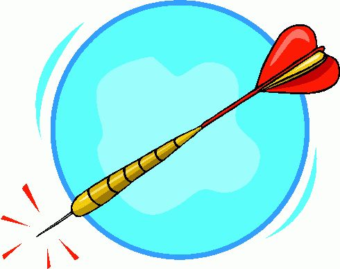 darts clipart animated