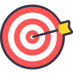 Premium icon download in. Dart clipart bullseye picture library library
