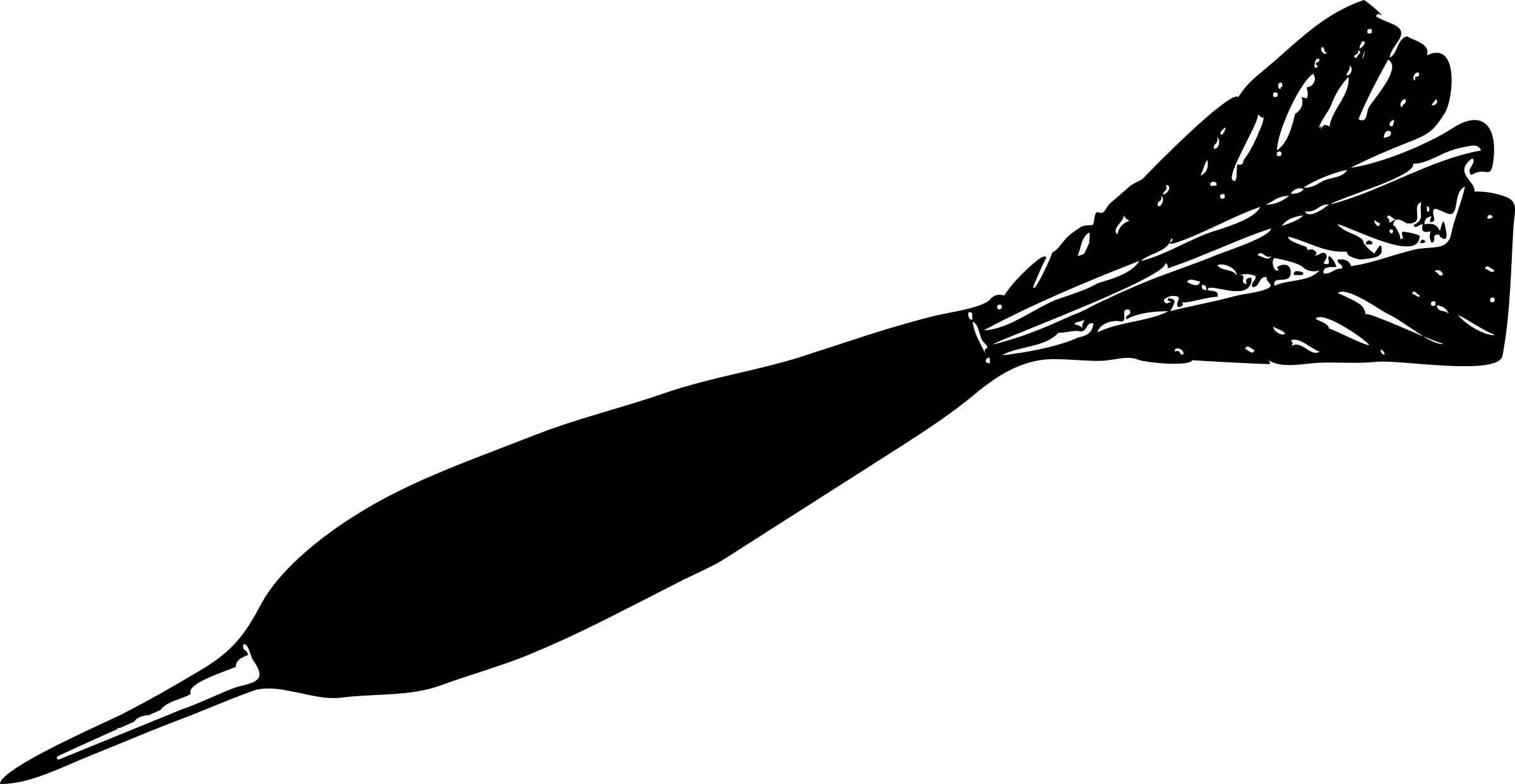 Dart drawing black and white. Clipart big image png