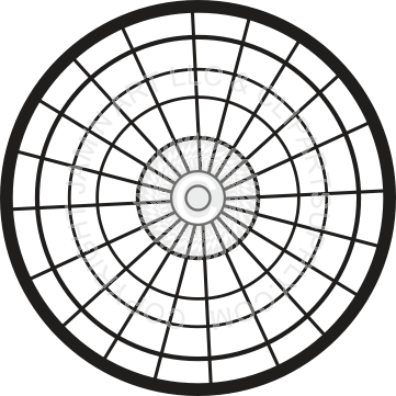 Dart drawing black and white. Dartboard in