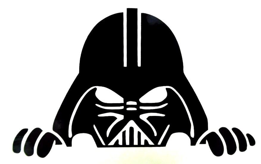 Attractive design ideas peeking. Darth vader clipart graphic royalty free