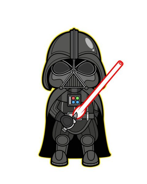 Clip art skulptura star. Darth vader clipart banner freeuse