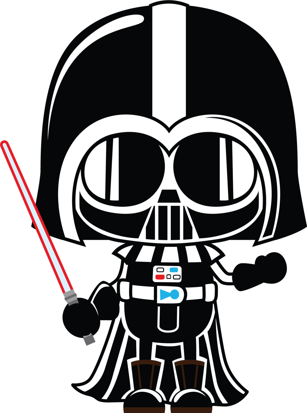 Darth vader clipart cartoon. By chrispix deviantart com