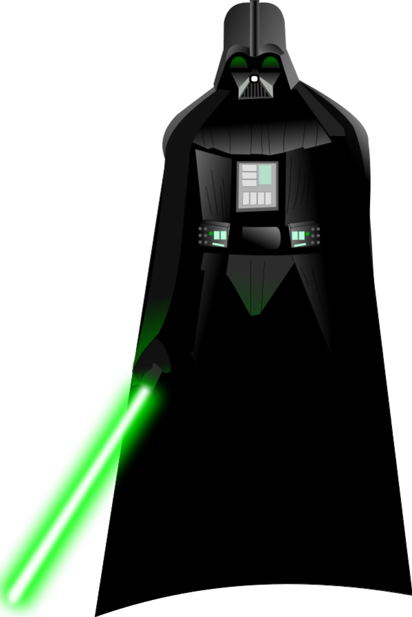 Darth vader clipart cartoon. Itsmonotune s deviantart gallery