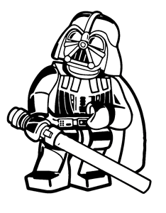 Darth vader clipart cartoon. Decal vinyl truck car