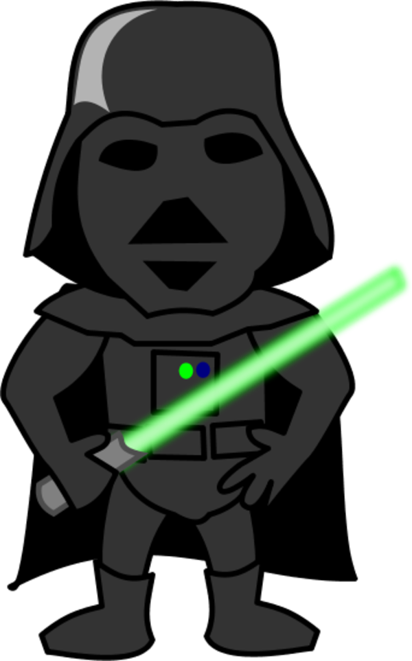 Darth vader clipart cartoon. Free download clip art