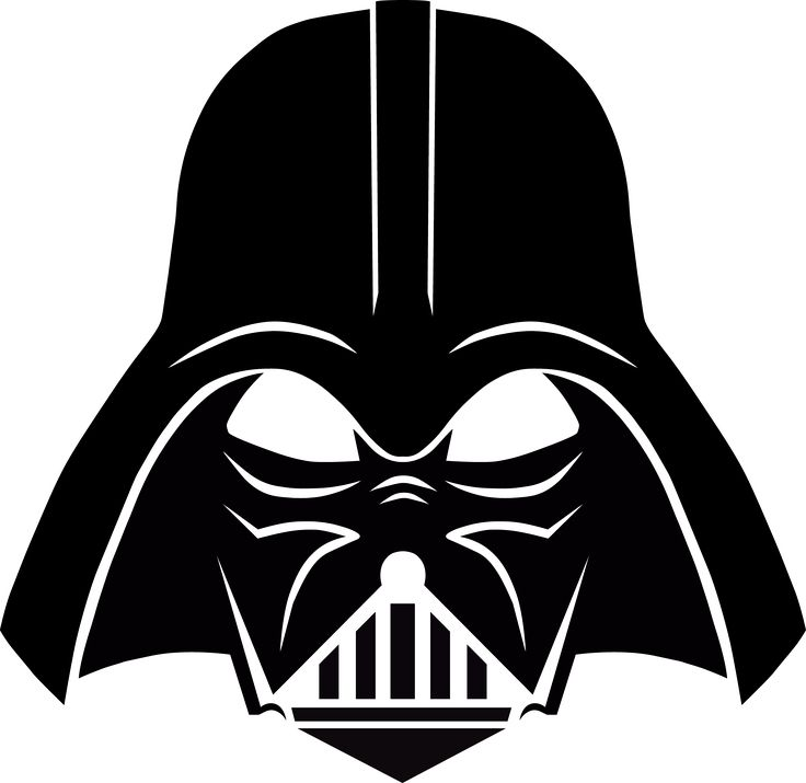 Darth vader clipart clip art. Stencil free download pinterest